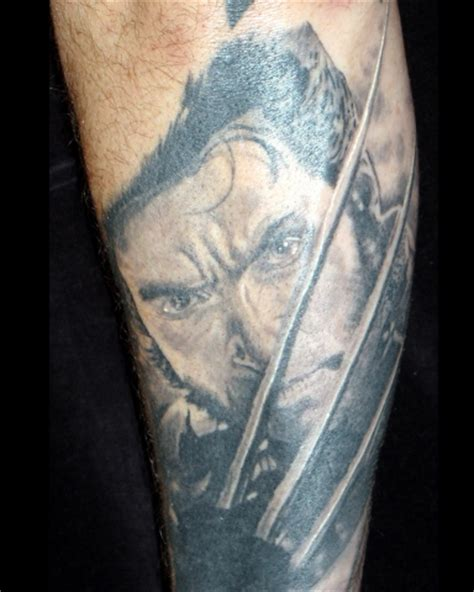 8th day tattoo 8th day hue jackman as wolverine