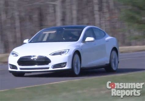Consumer Reports Tesla Model S Consumer Reports Weighs In With Its Tesla