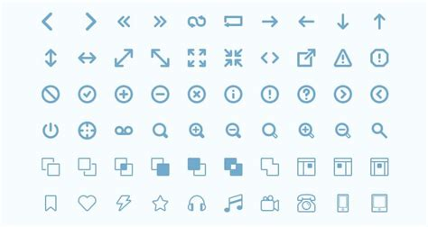 themes line com top 50 free icon sets from 2014