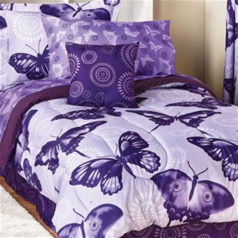 butterfly bedding sets flutter 8pc comforter set