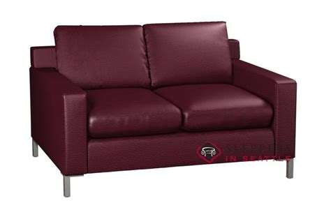 leather twin sleeper sofa customize and personalize soho twin leather sofa by lazar