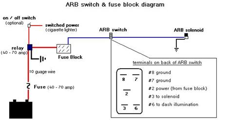 arb switch wiring diagram compressor wiring diagram free
