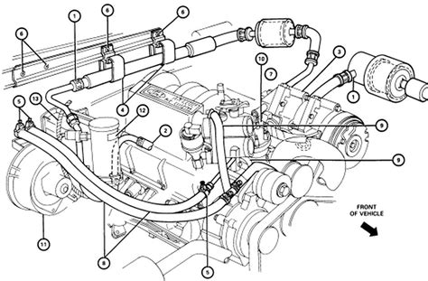 Radiator Ford Everest Xlt 2 5 L ford 302 engine coolant diagram ford get free image