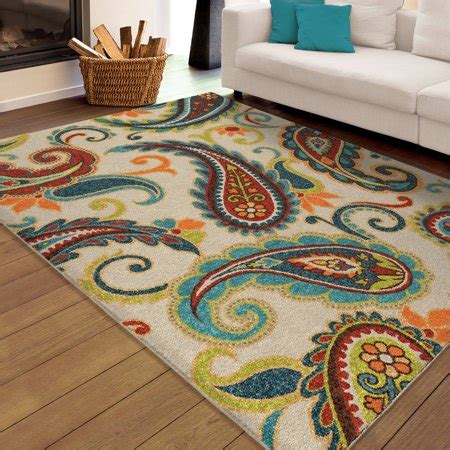bright colored area rugs orian rugs bright colors paisley wyndham multi area rug