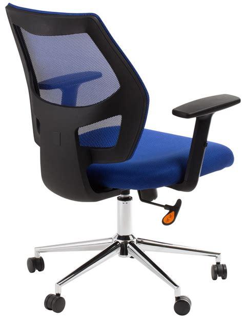 blue mesh computer chair metro blue mesh back computer chair office stock