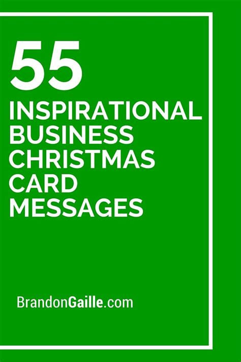 Business Greeting Card Verses 55 inspirational business card messages
