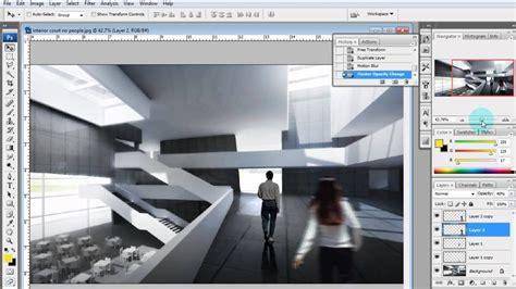 architectural illustration tutorial adding via
