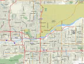 map of scottsdale arizona vacations travel map