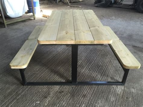 steel picnic table frame steel frame picnic table for sale in lismore waterford