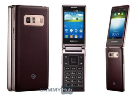 samsung sch w789 hennessy android flip phone spotted in new leaked images technology news