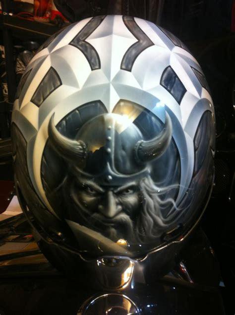 Cat Air Brush Helm Cross quot viking quot custom medallion inspired by collector s motorcyle helmet steve soffa
