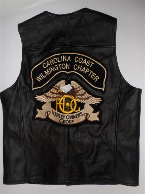 mens harley davidson leather vest classic vintage apparel