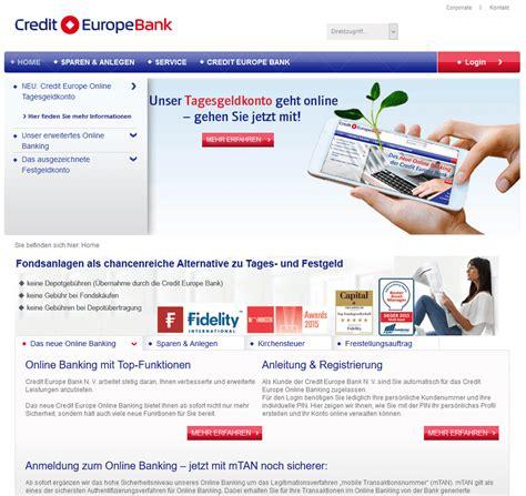 europe credit bank festgeld 187 credit europe bank tagesgeld zinsen konditionen im