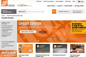 the home depot credit card perks www homedepot