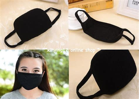 Masker Korea korean black cotton end 9 18 2018 10 15 pm myt