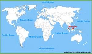 World Map Malaysia by Malaysia Location On The World Map