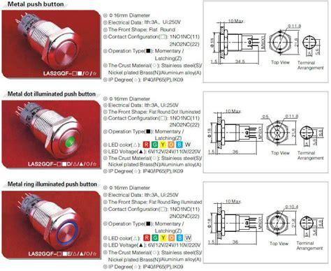 latching illuminated switch wiring diagram illuminated