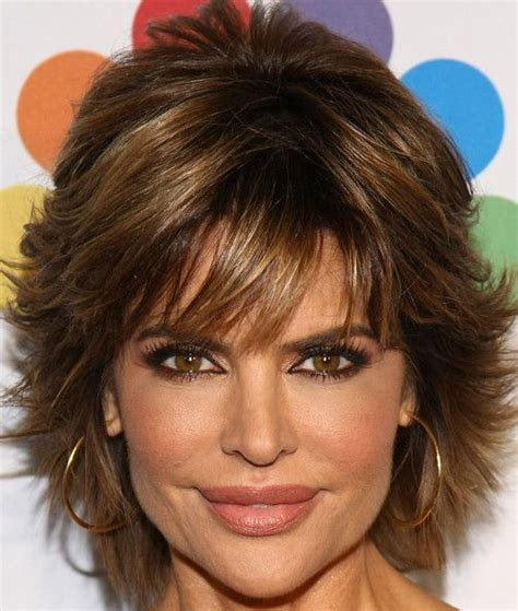 short haircuts and how to cut them lisa rinna layered razor cut cute cuts hair cut and
