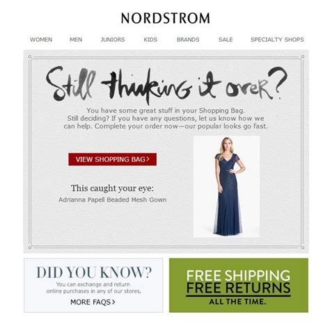 can you return something from nordstrom to nordstrom rack how to overcome abandoned cart this holidays