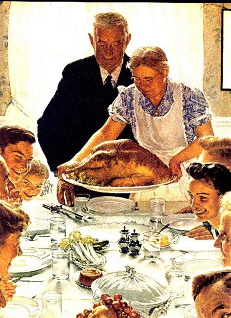 thanksgiving pictures arts and facts episode 86 thanksgiving norman rockwell