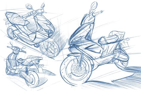 Sketches A 2 scooter by at coroflot