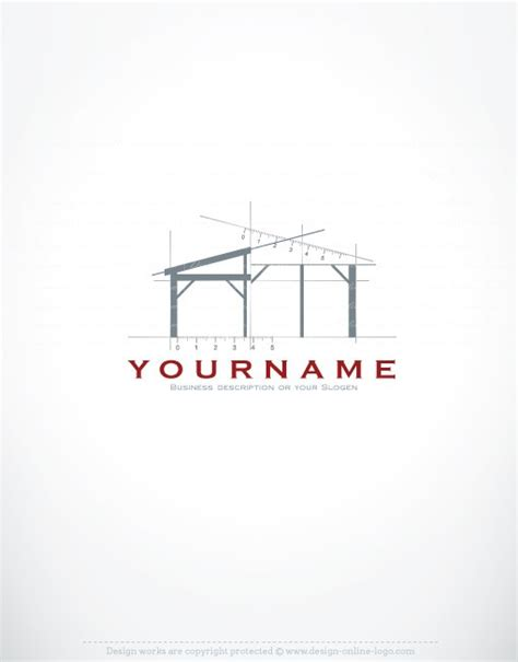 Home Blueprint Design Online 01207 ready made architect exclusive logo design