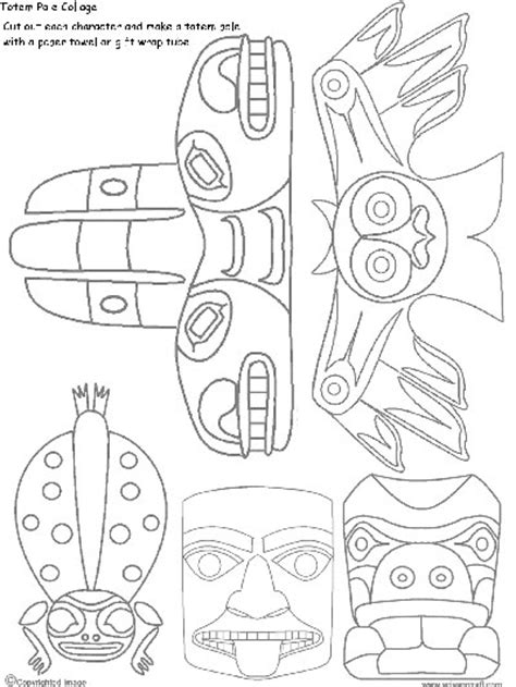 totem pole template how to draw a totem pole artsmudge