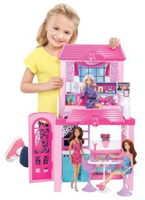 barbie doll house amazon amazon barbie glam vacation house 22 90 reg 39 99 freebies2deals