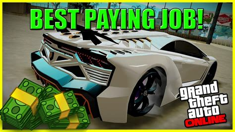 Gta 5 Online Best Job To Make Money - gta 5 money best paying jobs missions on gta 5 online very easy semi afk