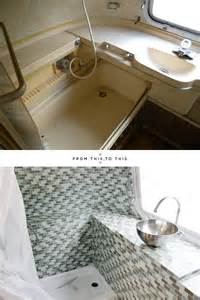 Airstream Bathroom Renovation Pin By Victoria Shulem On Airstream Pinterest