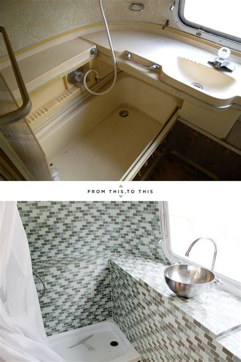 airstream bathroom pin by victoria shulem on airstream pinterest