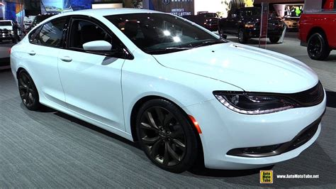 200s Chrysler by 2017 Chrysler 200s Alloy Edition Exterior And Interior