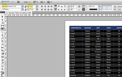 qt tutorial exles quick tip create an indesign table from an excel file
