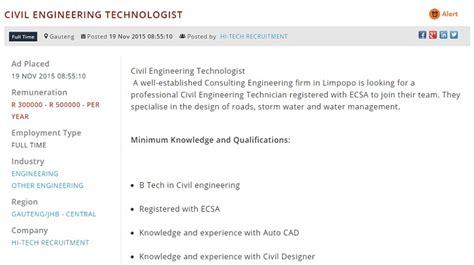 Design Engineer Jobs Gauteng | job opportunities in south africa s growing industries
