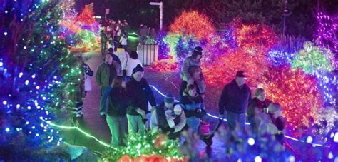 Point Defiance Zoo Lights Returns For The 29th Year Pdza Zoo Lights