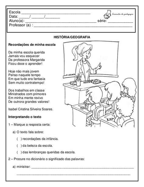 Resultado de imagem para atividade sobre escolas