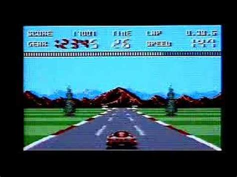 amstrad console burnin rubber on amstrad gx4000 gameplay commentary