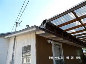 Deck And Patio Covers Roof To Deck Roof Connection Internachi Inspection Forum