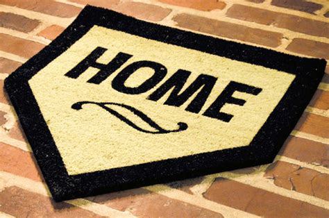 Mat Home home plate mat the green
