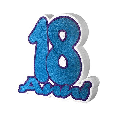 Scrapframe Birthday 20 30 Cm big scritta in polistirolo 33 x 30 x 5 cm 18 anni