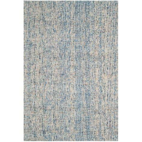6 ft area rugs safavieh abstract navy ivory 6 ft x 9 ft area rug abt220c 6 the home depot