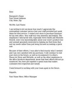 Business Letter Sample Appreciation Thank You Letters For Appreciation 24 Examples In Pdf Word