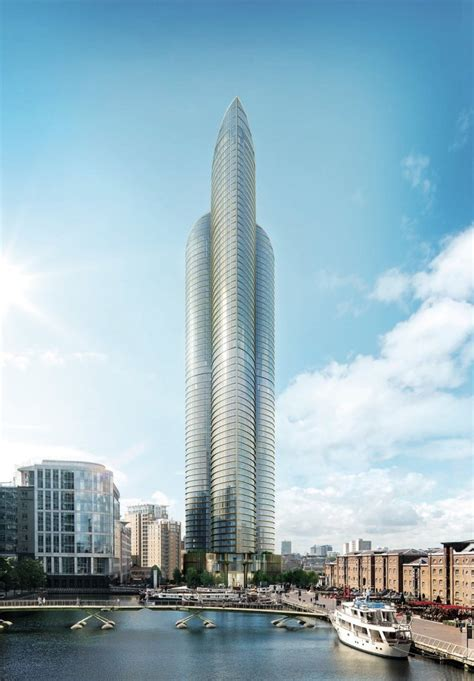 having a house built spire london new residential tower will be tallest in