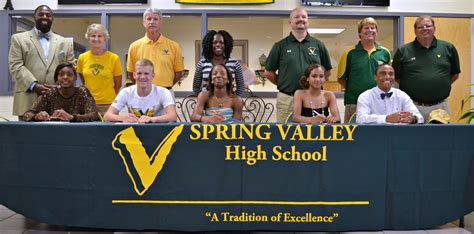 Letter Commitment College Sports Viking Update Five Athletes Sign Letters Of Commitment To Play College Sports