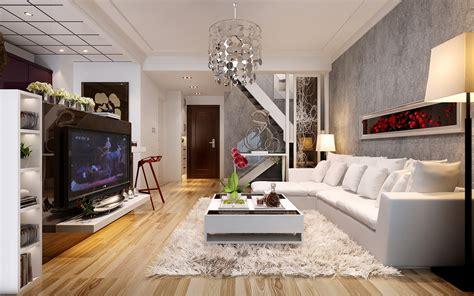 spacious living room spacious living room with tv white leather furniture red