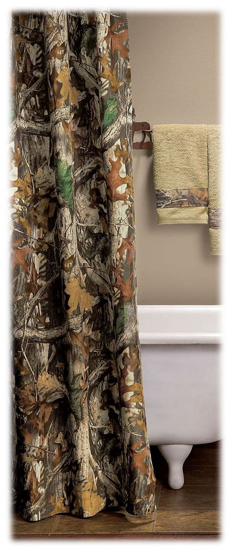 realtree shower curtain 17 best images about rustic bathroom with hunting theme on