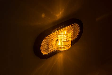 Turn Signal Lights by Oval Led Truck And Trailer Light 6 Led Mid Turn Signal