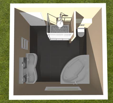 Amenagement Salle De Bain 9m2 by Am 233 Nagement Salle De Bain De 9m2 3x3 R 233 Solu 34 Messages