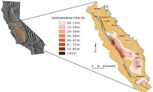 california land map delta mendota canal groundwater conditions and land
