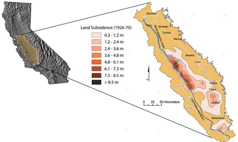 california map san joaquin valley delta mendota canal groundwater conditions and land